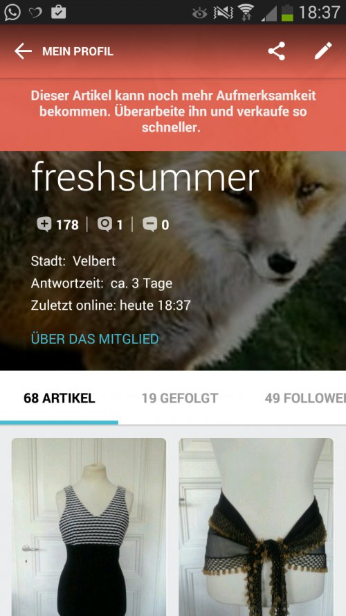 Kleiderkorb.at :: Shoutbox