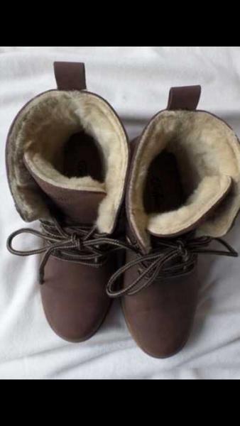 timeless design fe391 1477c Buffalo Fell Boots Schnürer
