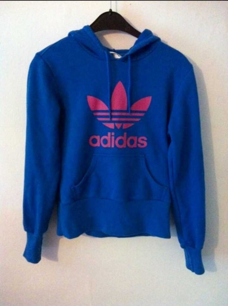 Top Marken 60% Freigabe beste Sammlung ADIDAS Pullover/ Hoodie - blau, pink
