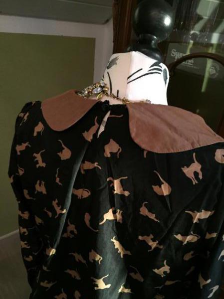 bf1fc36090b825 Katzenbluse von zara mit Kragen Katzenbluse von zara mit Kragen ...