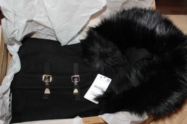 Woll Neu Zara Gr Blogger Dufflecoat Ausverkauft Fell Jacke s 8vmw0nNO