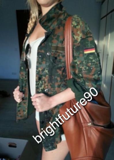 Bundeswehr Army Jacke Hipster Camouflage Blogger parka