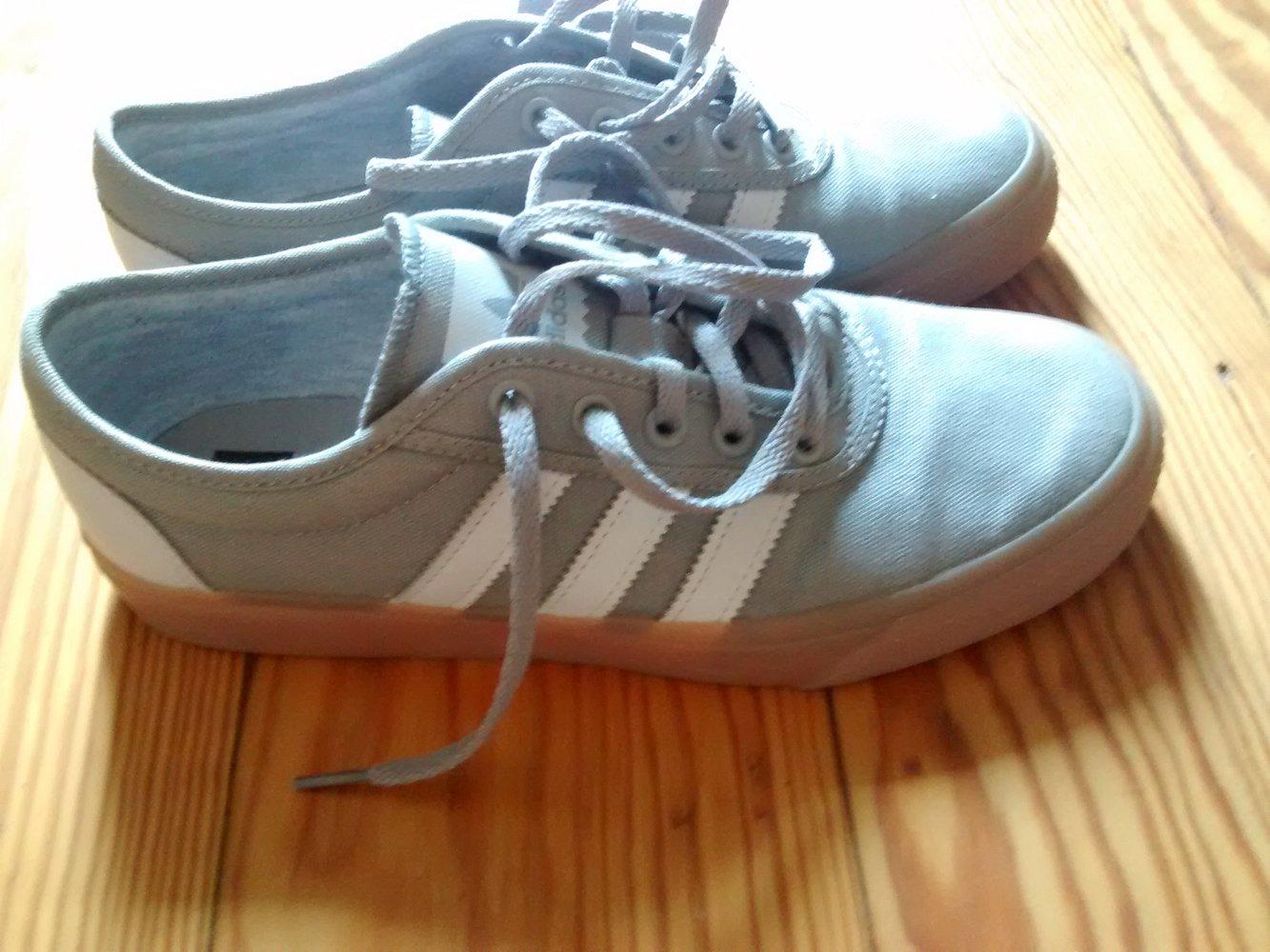 Adidas Sneaker Kleiderkorb at 40 Grau 5 Braune Sohle Us 7 aOwaW6qrFB