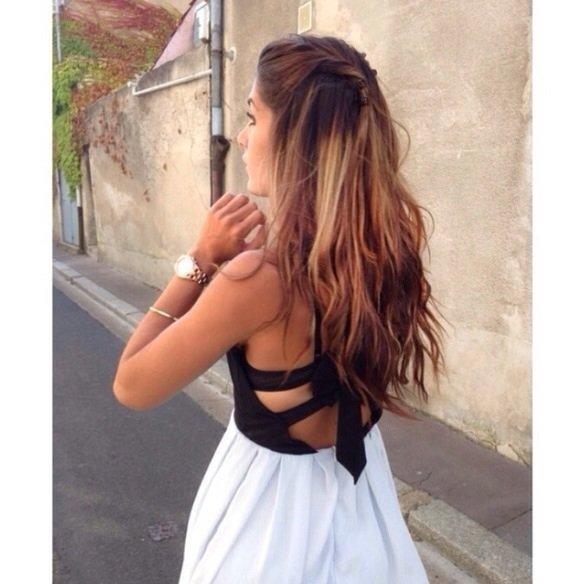 Lookbookstore - Wunderschönes Kleid mit Schleife Tumblr ...