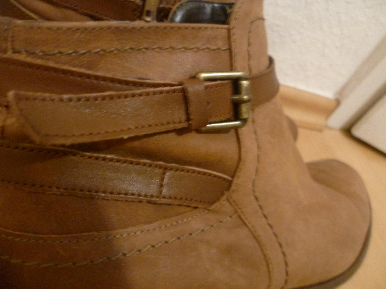 Stiefeletten 5th AvenueDeichmannEchtes Von Braune BootsWinterHerbstBlogger LederAnkle oerdxBEQCW