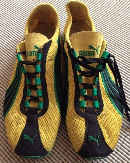 Puma H Street Rising Schuhe   Sneaker   Jamaika   gelb grün schwarz