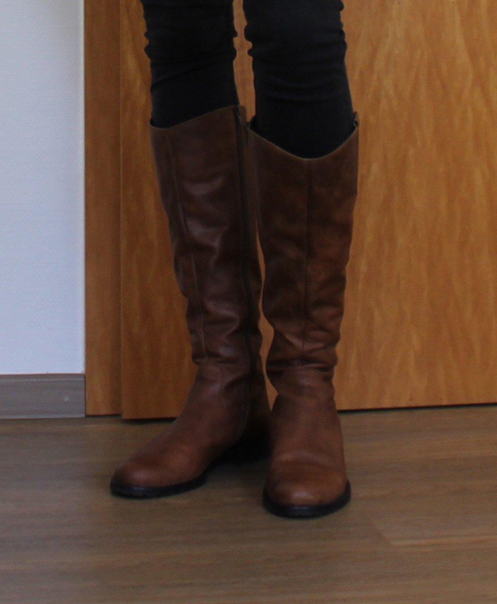 pretty nice 35416 ca982 Damen Leder Stiefel braun Gabor (Neupreis 140€)