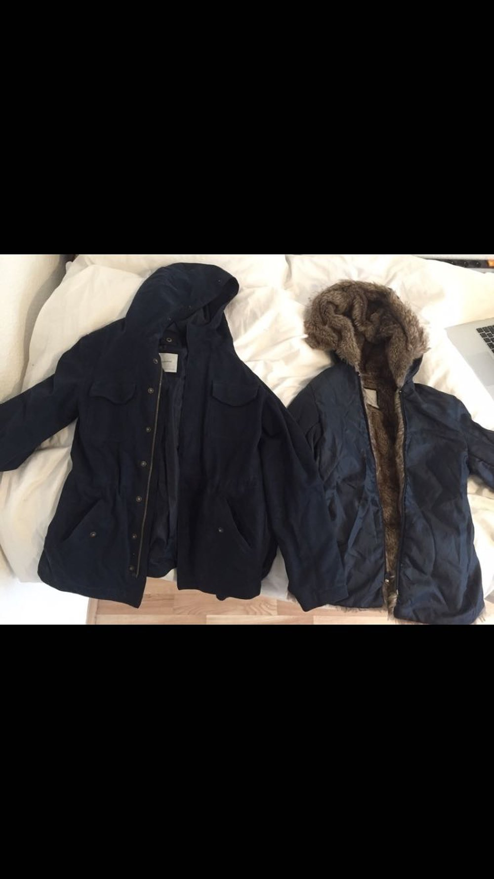 4ce96ce16a63c9 subdued - Subdued winterjacke Jacke Mantel mit Fell gefüttert ...