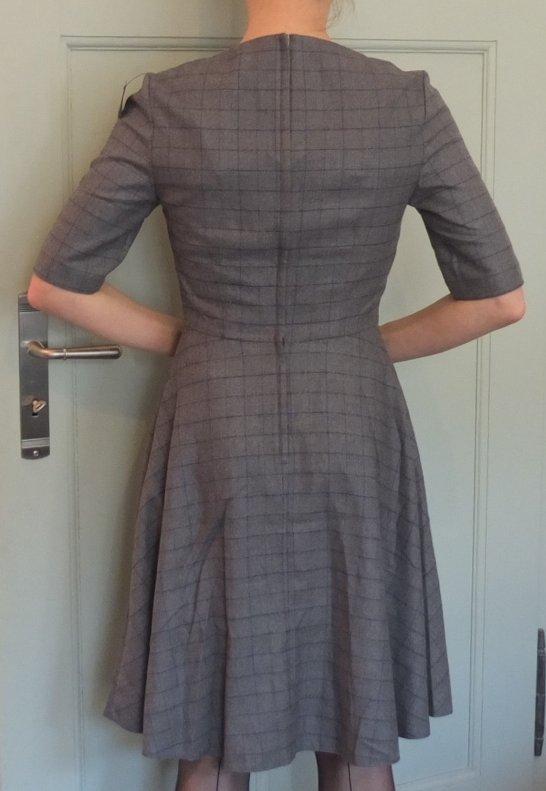 962ac6b127e4d Grau-blau kariertes Kleid von Orsay, 50-er-Jahre, vintage, preppy ...