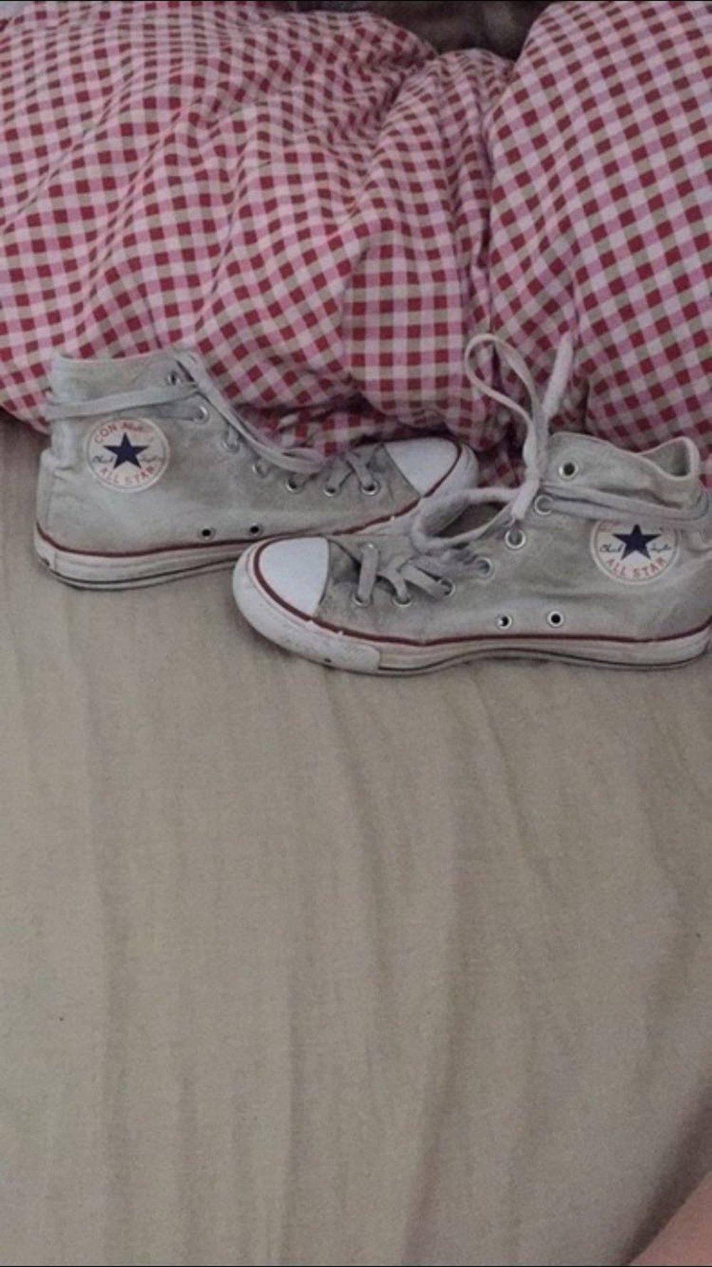 Tumblr Sneaker Cool Converse Chucks Weiß DYE2HW9I