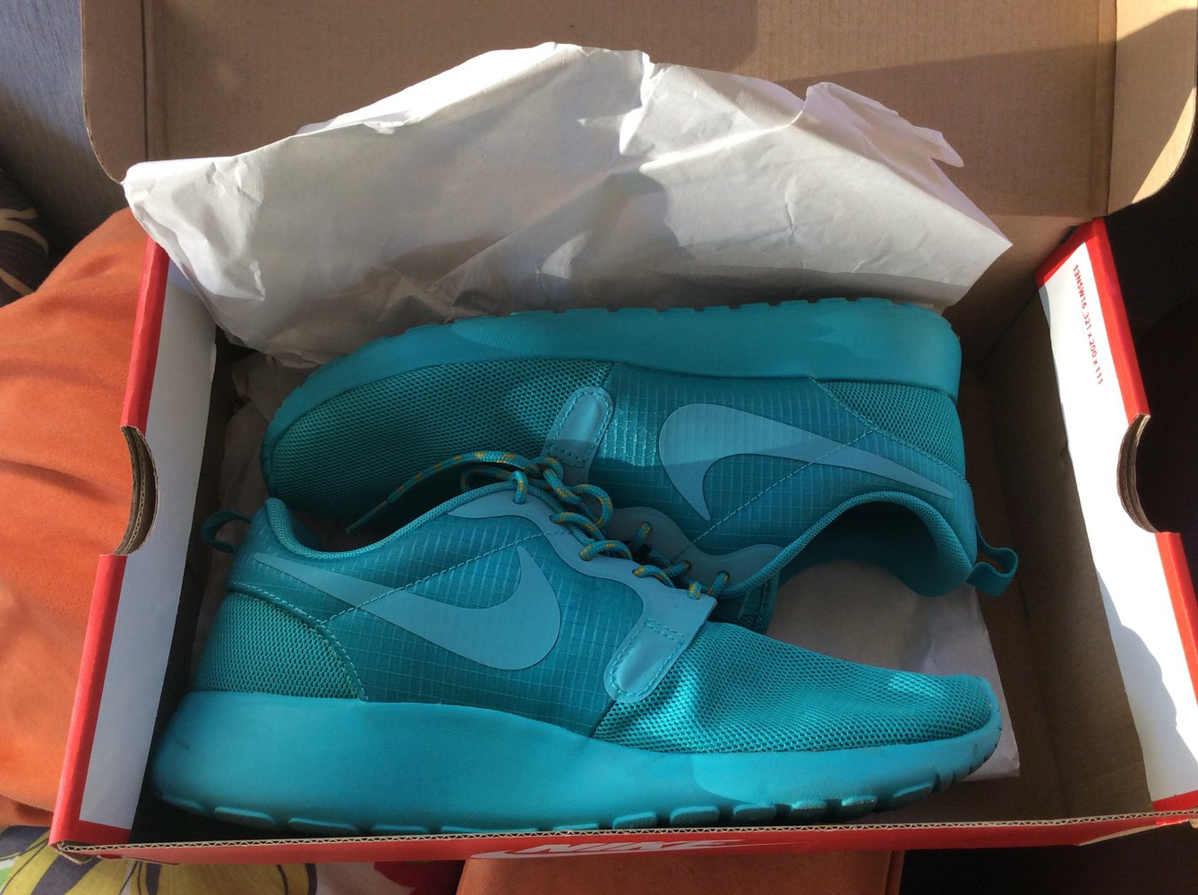 Nike Roshe run Hyperfuse türkis Blogger Fashion free    Kleiderkorb.at a6ebdfc8b2