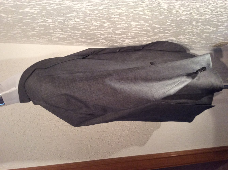 Uli Knecht Sakko Blazer Jackets Größe 50 neu 100% pure wolle grau