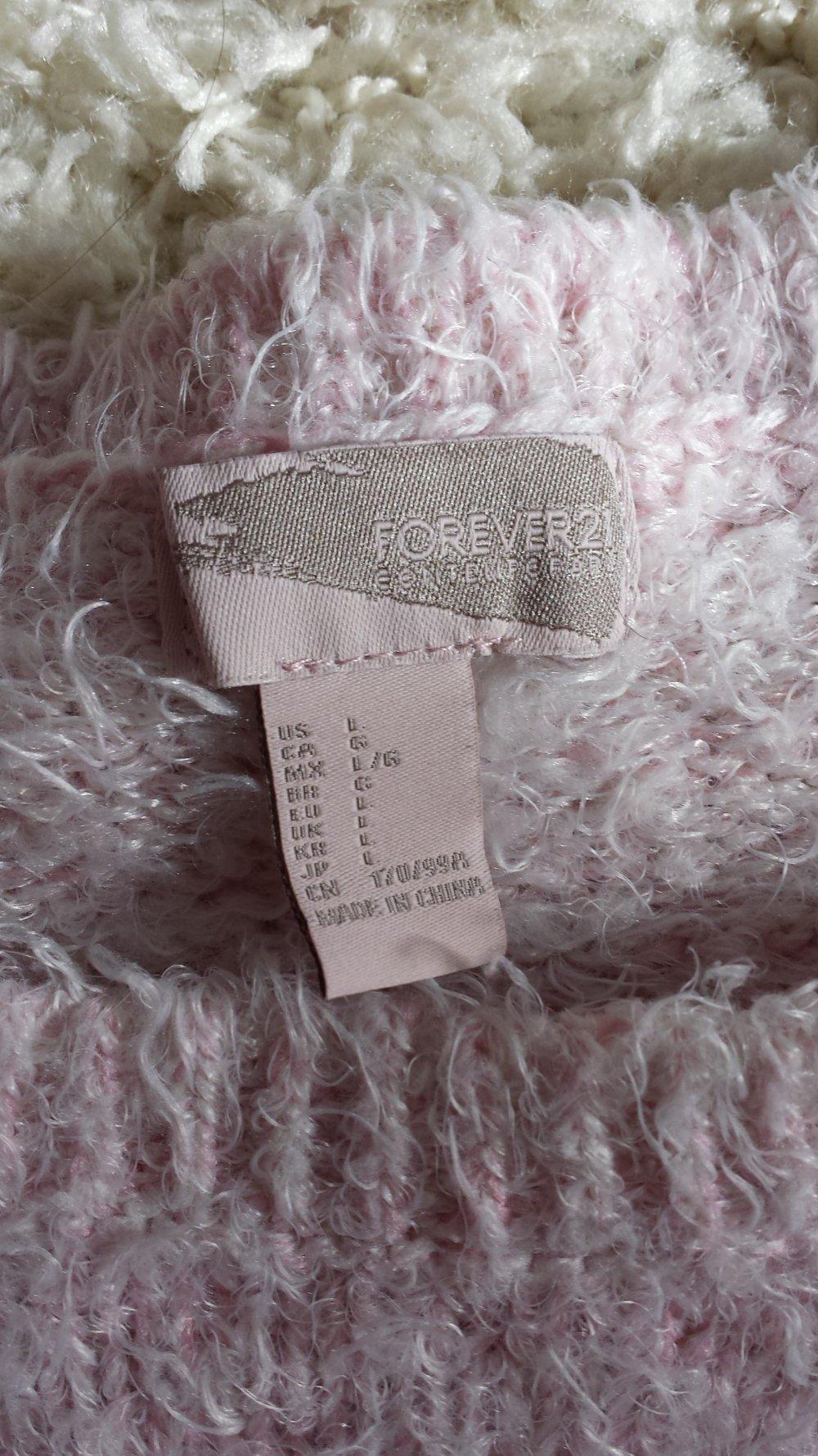 official photos b2a5b 05532 Rosa Kuschelpulli Oversize Forever21