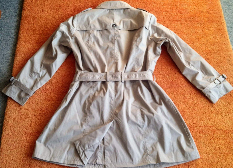 Neu Gr 46 Clarina Damen 99€ Mantel 99 Beige Trenchcoat Von P In Xnwk8O0P