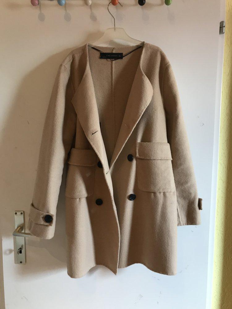 schnell verkaufend helle n Farbe Heiß-Verkauf am neuesten Zara Mantel
