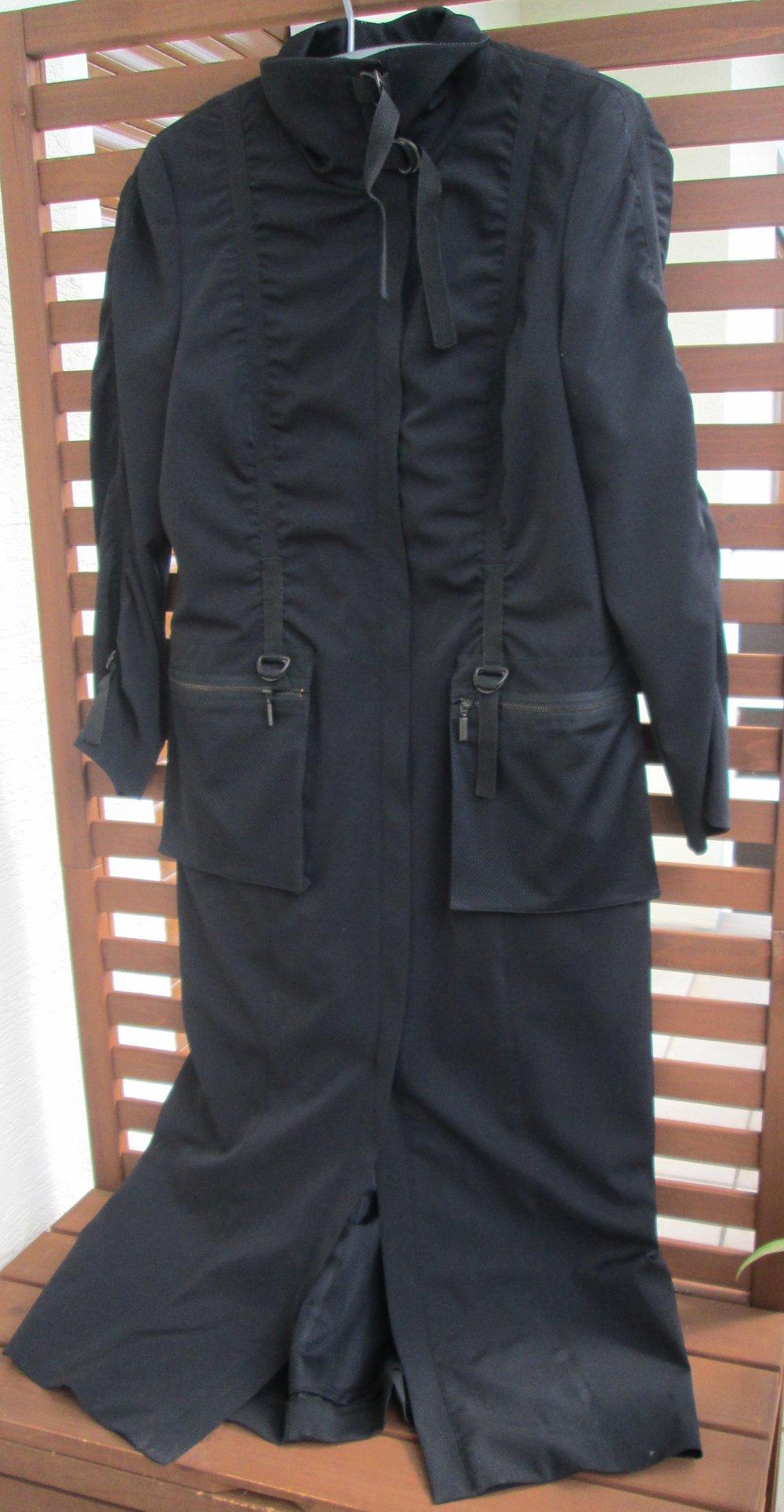 Schwarzer Mantel Schwarzer 40 Nagelneuer Mantel Gr Nagelneuer OPn0k8wNX